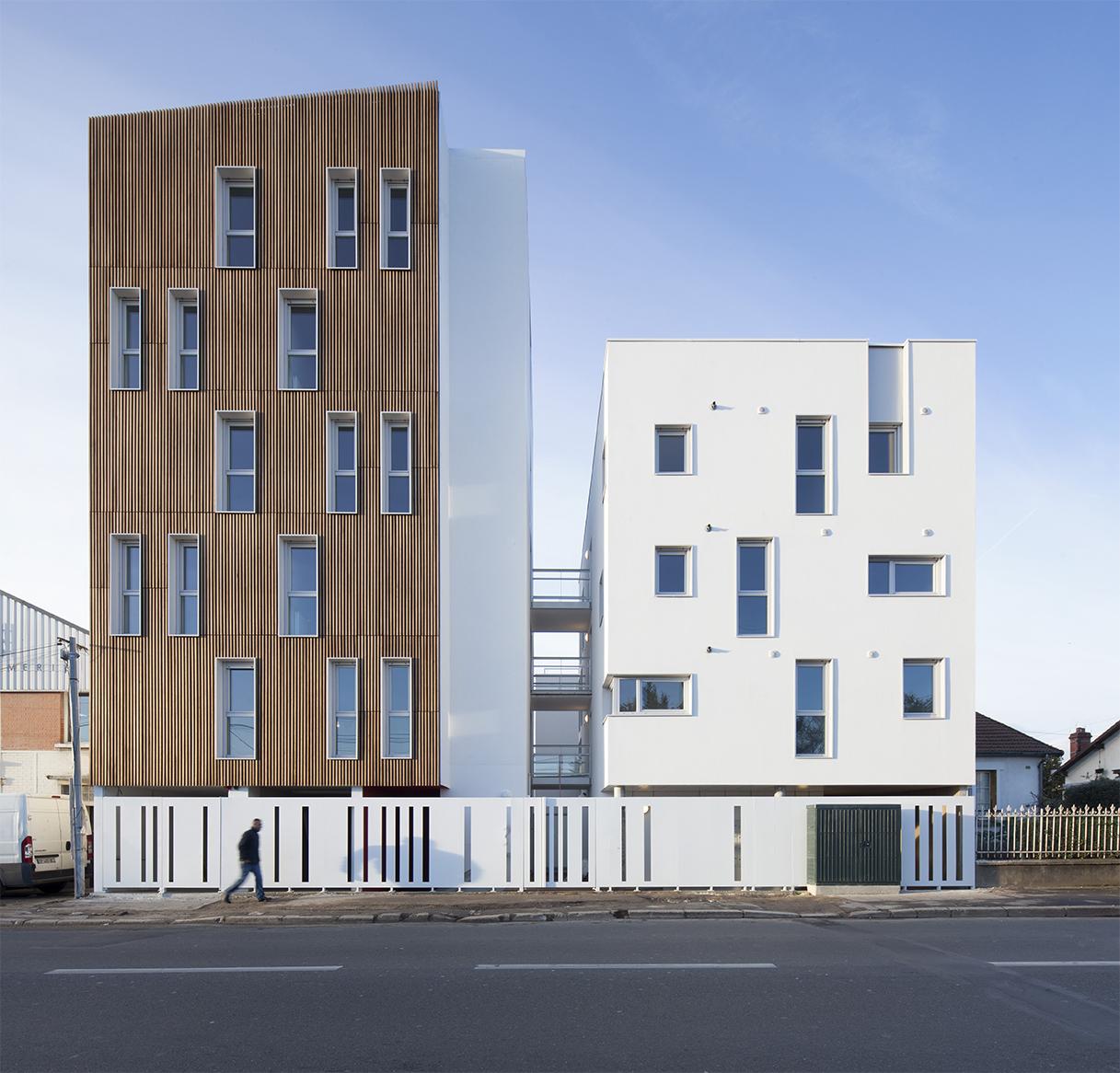 16 social housing units arcdog for Da architecture