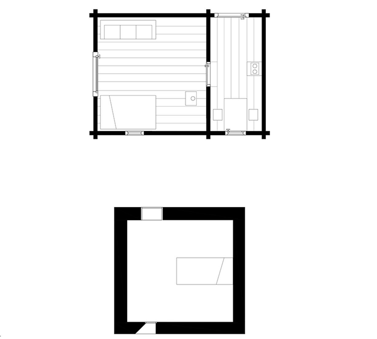 Mountain cabin arcdog for Mountain cabin floor plans