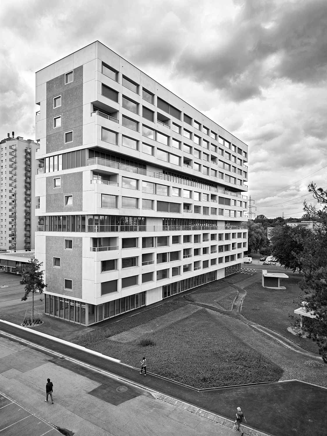 Replaced building on ringstrasse north arcdog - Boltshauser architekten ...