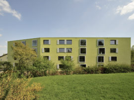 MFH Glättlistrasse Zürich/Altstetten, L3P Architekten Regensberg, Fertigstellung 2011