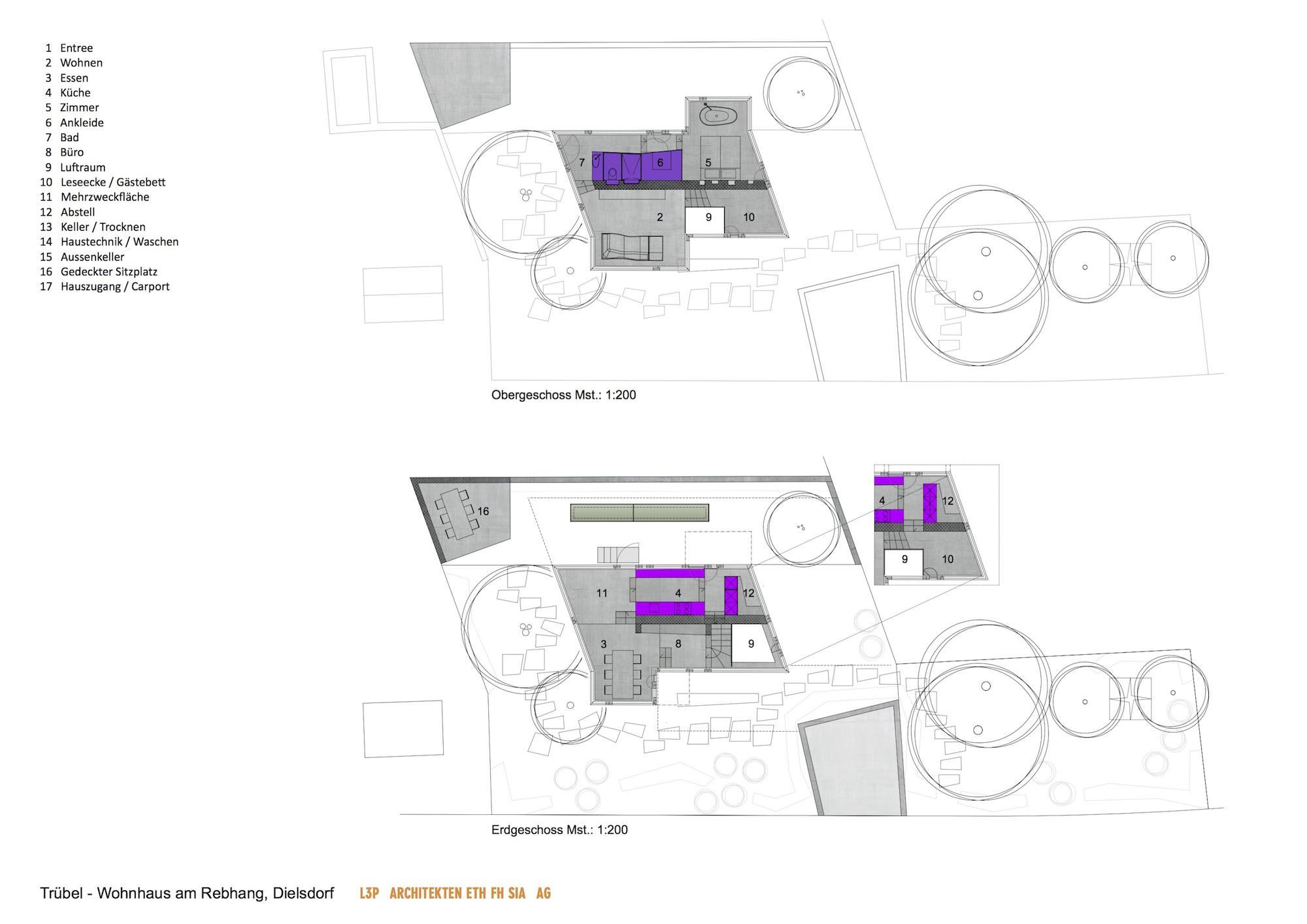Trübel ? New Residential Building In Dielsdorf | Arcdog Kche Des Jahres