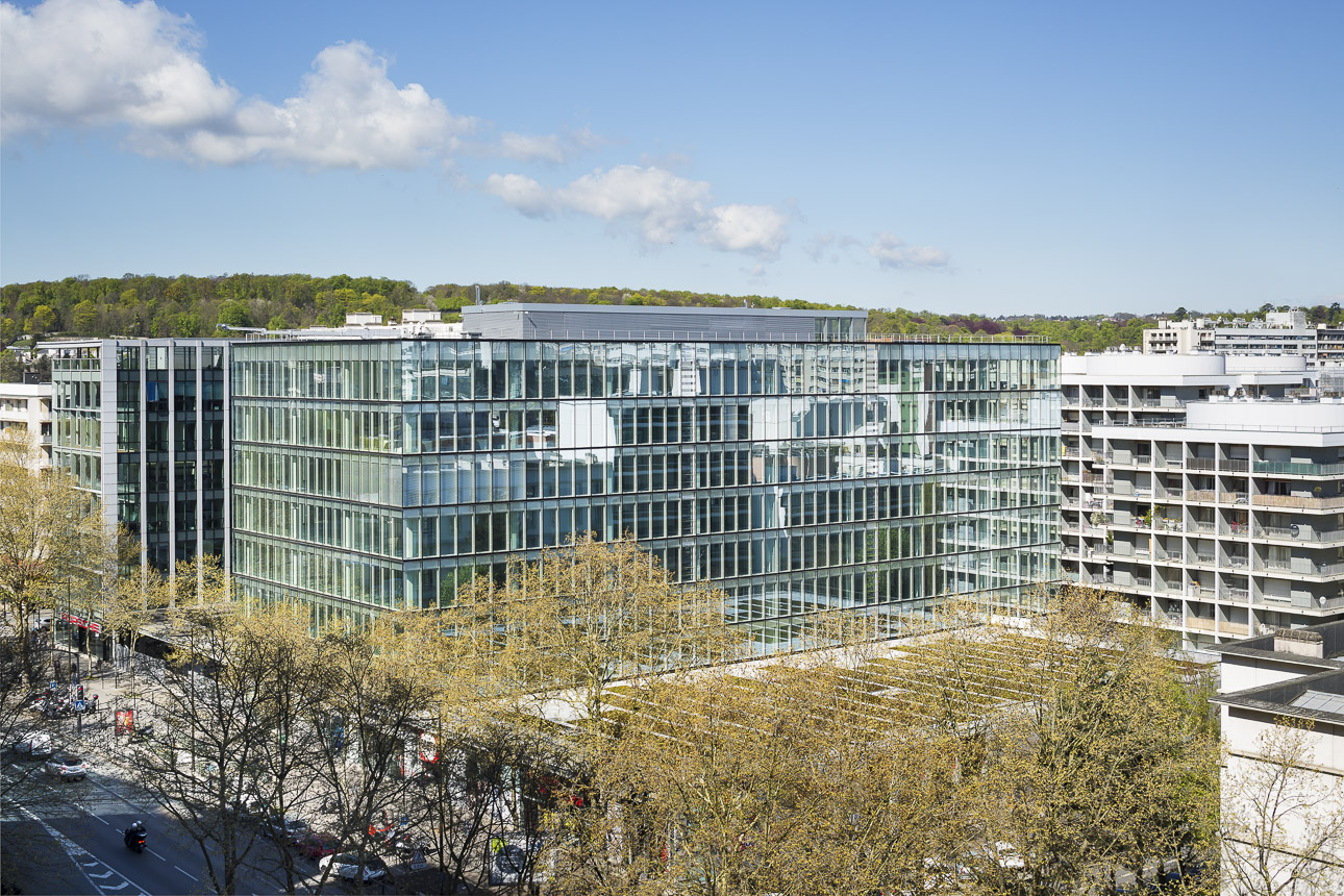 Avenue Leclerc office building – ArcDog
