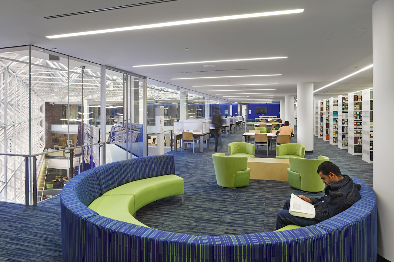 Medgar evers college library of the city university of new - Interior design colleges in atlanta ga ...