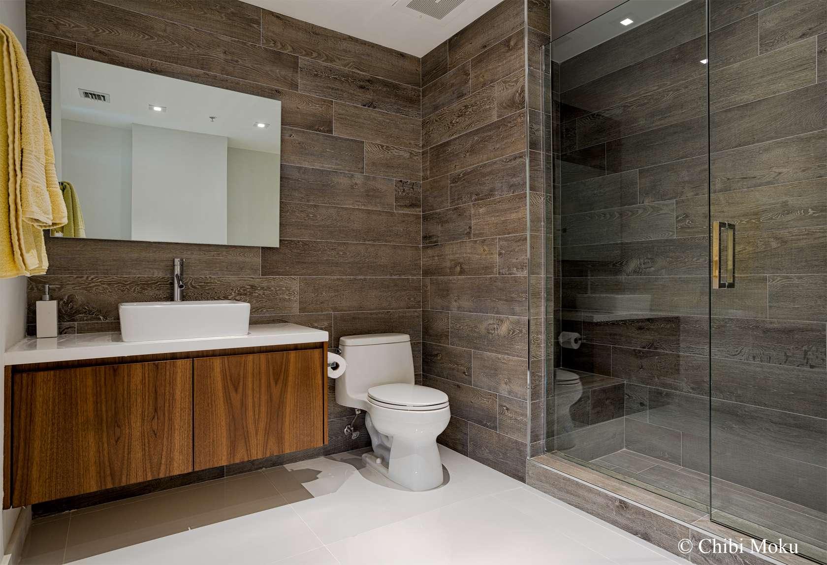 Керамогранит в ванной дизайн ванной