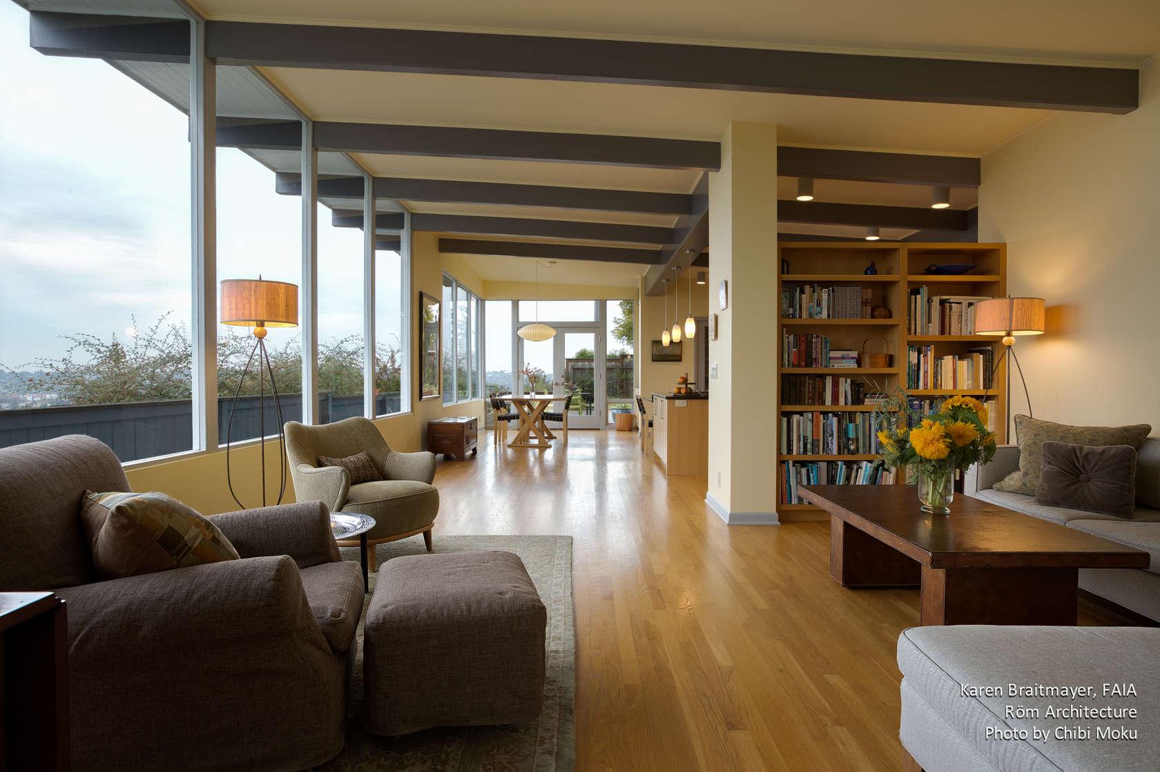 Rom Architecture Karen Braitmayer MidCentury Modern Seattle
