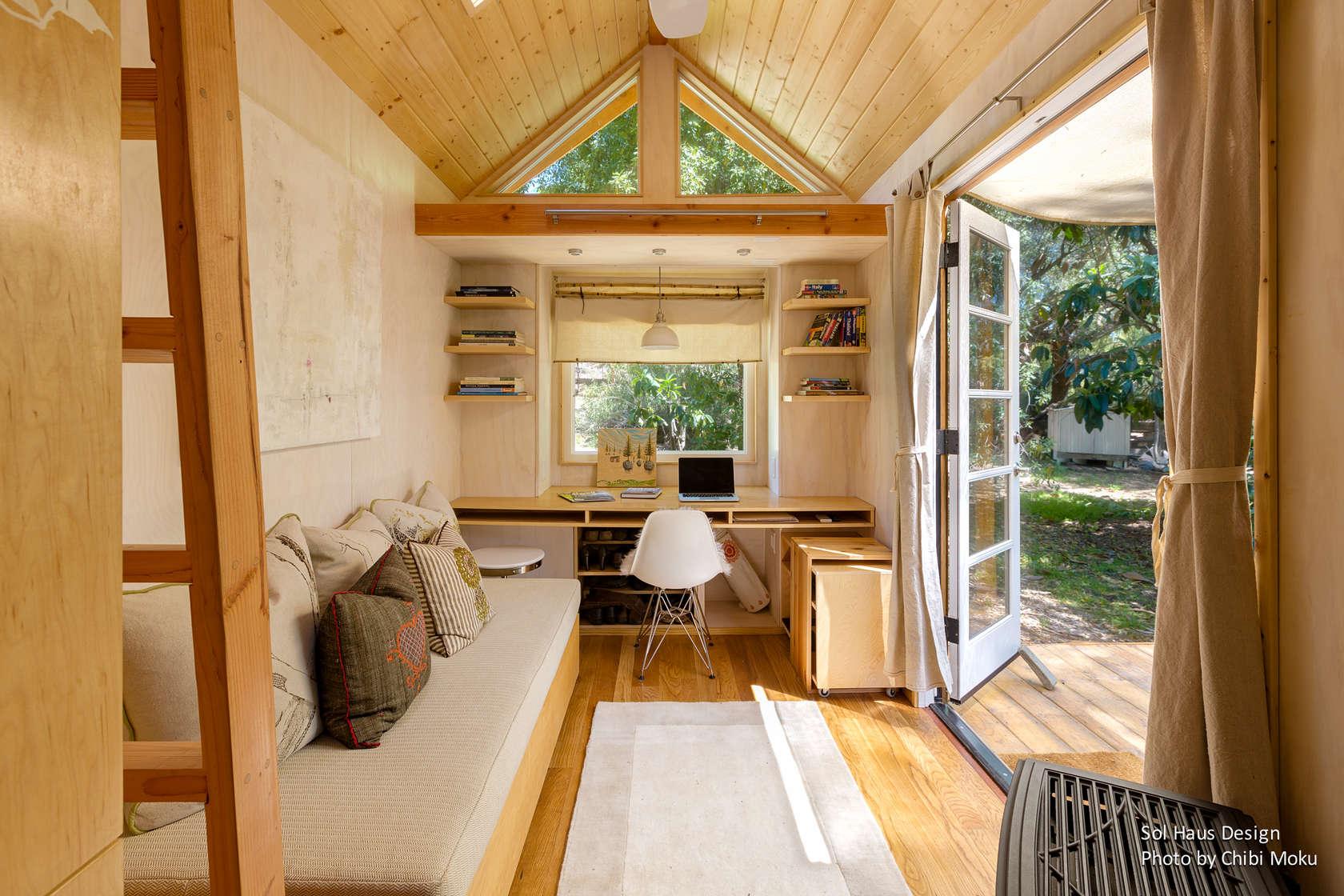 Дизайн небольшого дома снаружи и внутри