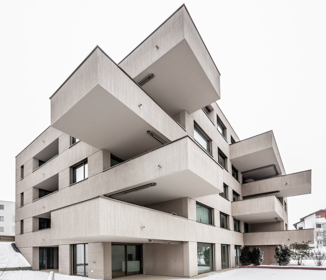 The Intricacy Of Design Of The Existing Buildings Are Transferred Into The  Volume Formation Of The New Building. On The Street Side, The Vertically  And ...