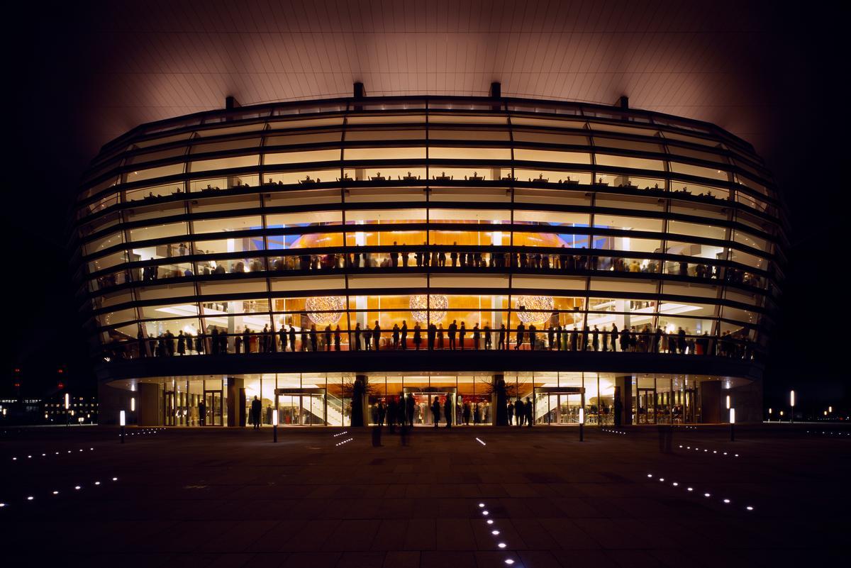 Open Foyer Opera Copenhagen : Copenhagen opera house arcdog